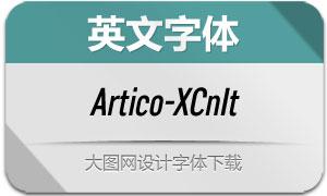 Artico-ExtraCondItalic(英文字体)