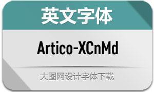 Artico-ExtraCondMd(英文字体)