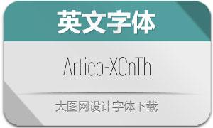Artico-ExtraCondThin(英文字体)