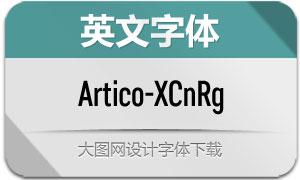 Artico-ExtraCondRg(英文字体)
