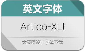 Artico-ExtraLight(英文字体)