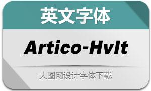 Artico-HeavyItalic(英文字体)