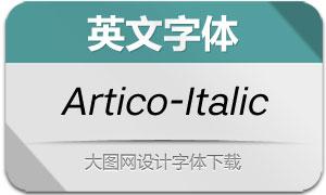 Artico-Italic(英文字体)