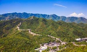 八达岭长城美丽景观摄影图片