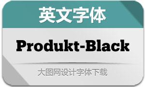 Produkt-Black(英文字体)