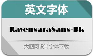 RavensaraSans-Black(英文字体)