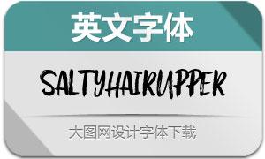 SaltyHairUpper(英文字体)