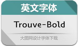 Trouve-Bold(英文字体)
