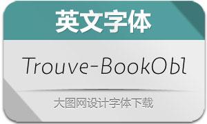 Trouve-BookOblique(英文字体)