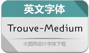 Trouve-Medium(英文字体)