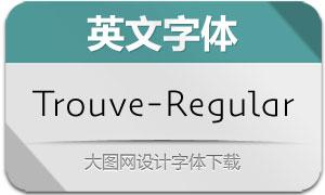 Trouve-Regular(英文字体)