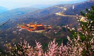 寿阳方山风景区全景摄影图片