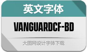 VanguardCF-Bold(英文字体)