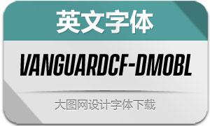 VanguardCF-DemiBoldObl(字体)