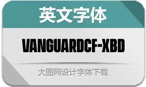 VanguardCF-ExtraBold(英文字体)