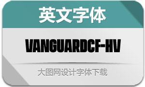 VanguardCF-Heavy(英文字体)