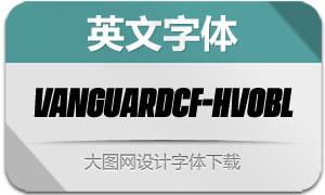 VanguardCF-HeavyOblique(字体)