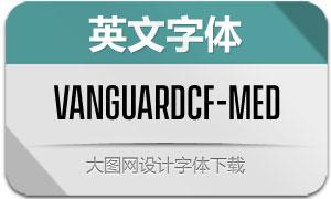 VanguardCF-Medium(英文字体)