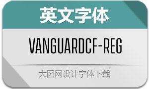 VanguardCF-Regular(英文字体)