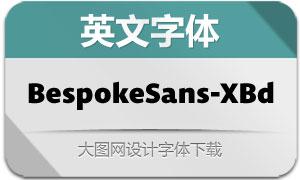 BespokeSans-ExtraBold(英文字体)