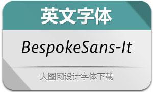 BespokeSans-Italic(英文字体)