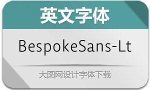 BespokeSans-Light(英文字体)