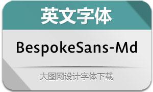 BespokeSans-Medium(英文字体)