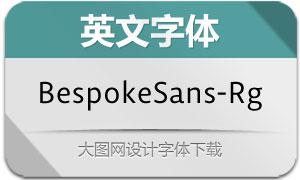 BespokeSans-Regular(英文字体)