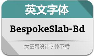 BespokeSlab-Bold(英文字体)
