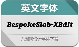 BespokeSlab-ExtraBdIt(英文字体)