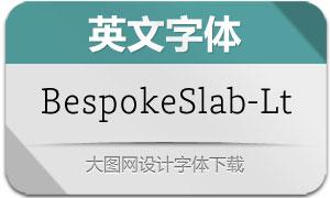 BespokeSlab-Light(英文字体)
