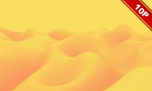 平滑连绵起伏效果抽象背景高清图片