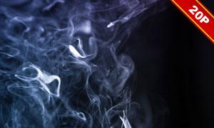 弥漫在空气中的烟主题背景高清图片