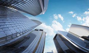 现代化大都市高层建筑摄影高清图片