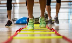运动健身人物局部特写摄影高清图片