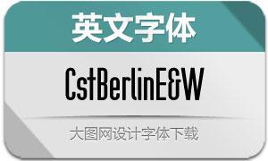 CstBerlin系列9款英文字体