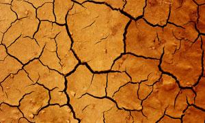 严重干旱裂缝地面特写摄影高清图片