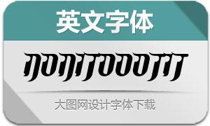 NoniTooOT-Italic(英文字体)
