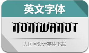 NoniWanOT(英文字体)