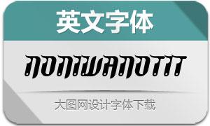 NoniWanOT-Italic(英文字体)