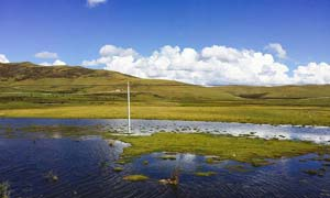 川西纳木错美丽风光摄影图片