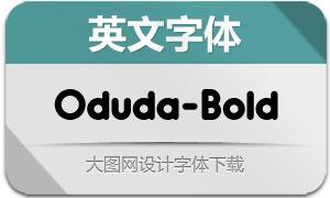 Oduda-Bold(英文字体)