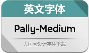 Pally-Medium(英文字体)