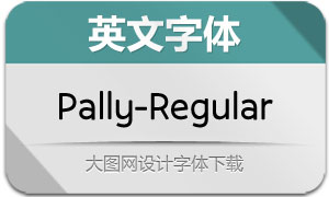 Pally-Regular(英文字体)