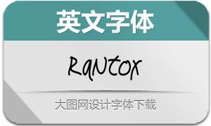 Rantox(英文字体)