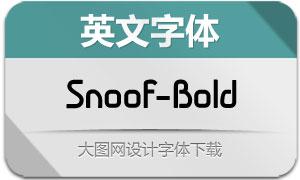 Snoof-Bold(英文字体)