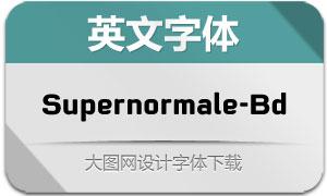 Supernormale-Bold(英文字体)
