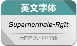 Supernormale-RegularIt(字体)