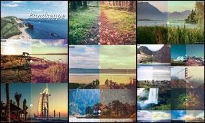 25款风景照片复古怀旧艺术效果LR预设
