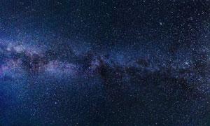 茫茫浩瀚宇宙星空景象攝影高清圖片